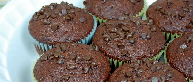muffin al cioccolao light