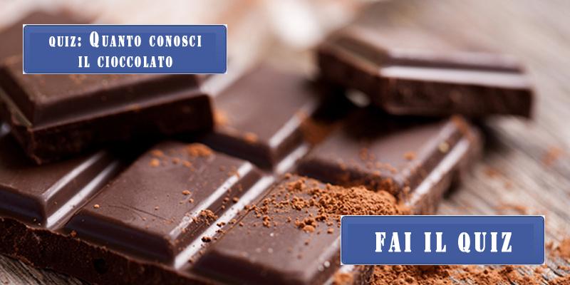 Quiz sul cioccolato!