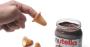biscotti a forma di dito per mangiare la nutella