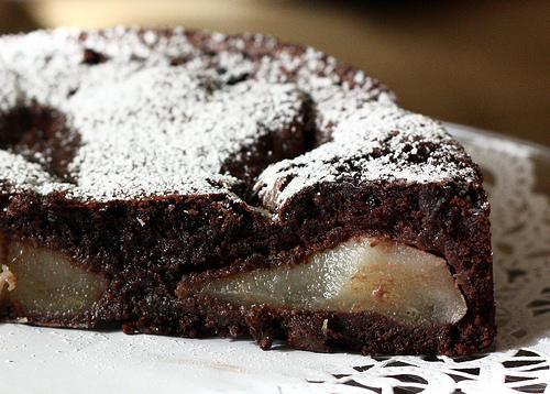 Ricetta Torta Pere E Yogurt Bimby.Torta Al Cioccolato E Pere Bimby