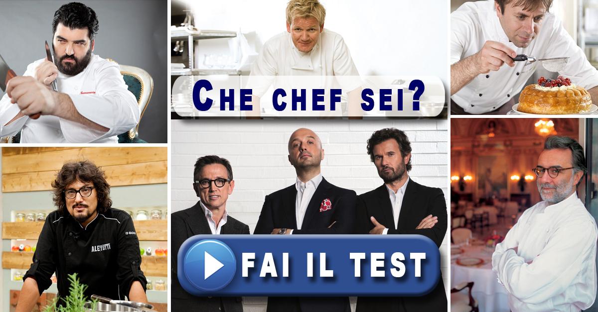 Che chef sei?